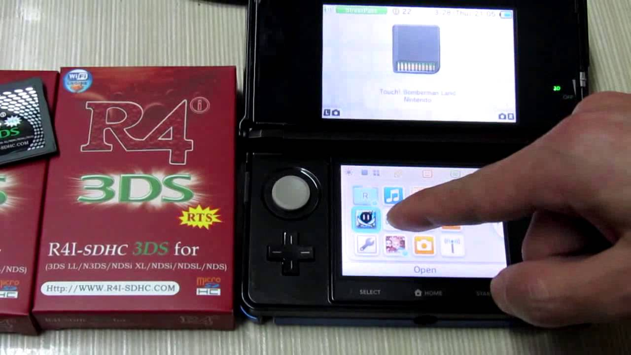 R4 3DS - Both R4i SDHC 3DS V4 5, R4i SDHC 3DS RTS Work on 3DS V5 0 0-11U Now