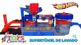 Super Túnel de Lavado de Hot Wheels
