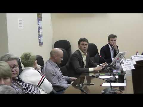 Встреча главы управы района Солнцево с населением 20.11.2019 (ч. 1)