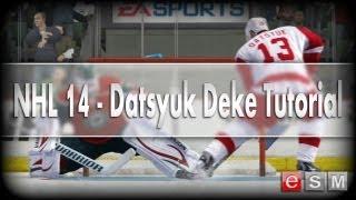 eSM   NHL 14 - Datsyuk Deke Tutorial