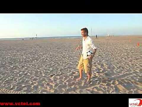 Clip cua Beckham gay sot tren YouTube