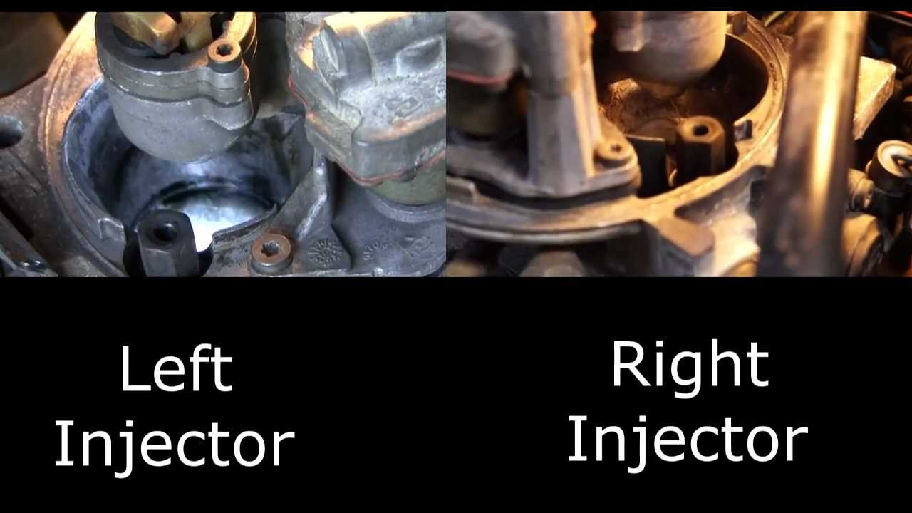 Chevy Tbi Left And Right Injector While Running Youtube 89 S10 Fuel Wiring Together With 2000 Silverado Pump