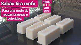 Faça Sabão que Remove Mofo de Roupas – Sem Soda Para Roupas Brancas e Coloridas