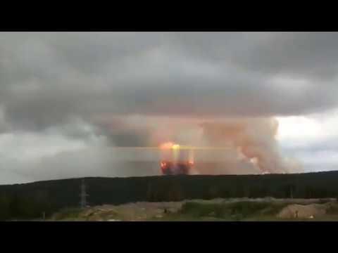 Взрывная волна в Ачинске