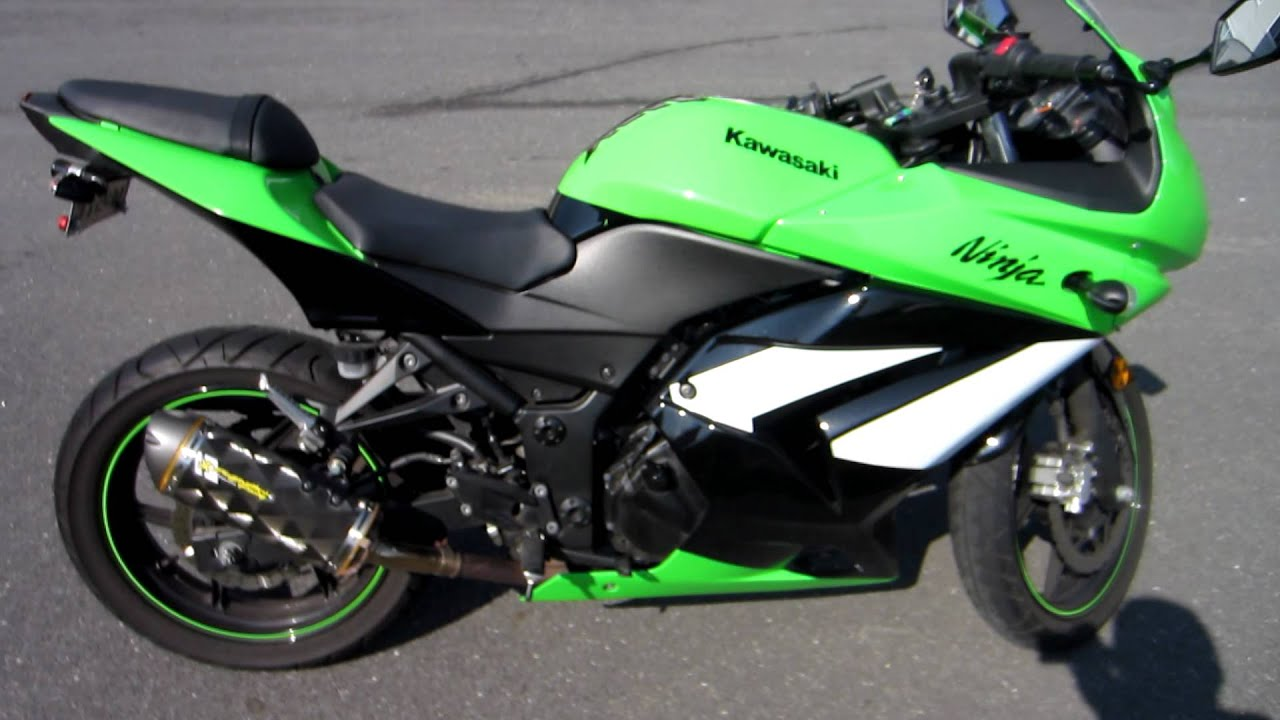 2009 Ninja 250r Special Edition - YouTube