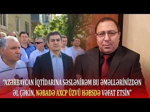 """""""Azərbaycan iqtidarına səslənirəm, dayanın, bu səhv hərəkətdən imtina edin""""-Əli Kərimli"""