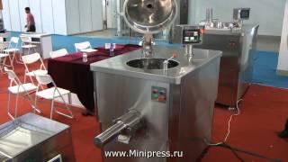 Фармацевтическое оборудование для смешивания порошков, гранулирования и покрытия на www.MiniPress.ru(, 2013-03-04T23:23:15.000Z)