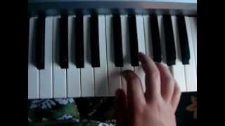 Kako  svirati klavijature - Kraljica moga srca