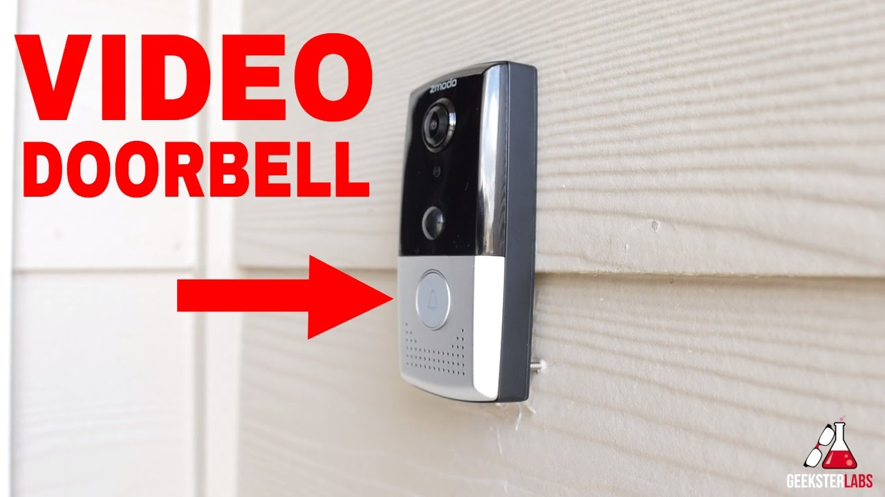 zmodo greet video doorbell review youtube. Black Bedroom Furniture Sets. Home Design Ideas
