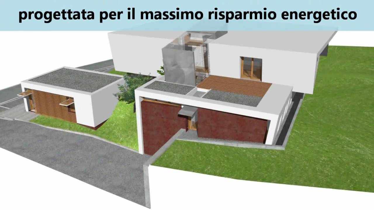 Villa stile moderno a montebelluna youtube for Ville stile moderno