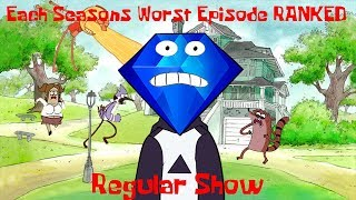 Ranking Each Regular Show Season's WORST Episode