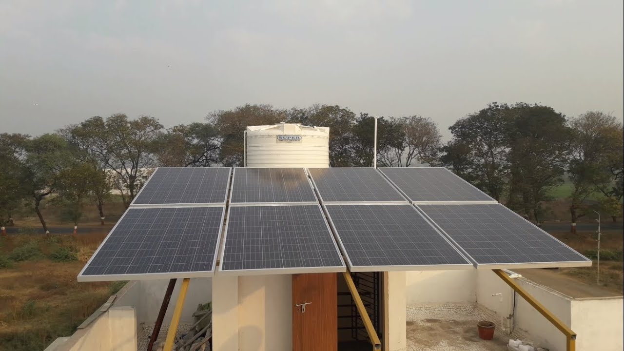 2kw On Grid Solar System At Just Rs 76 600 Gujarat Youtube