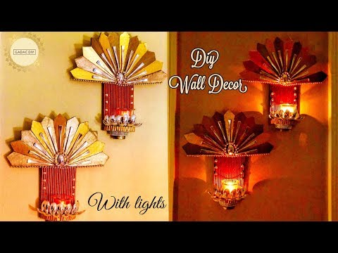 Unique Wall Hanging | wall hanging craft ideas | diy wall hanging craft ideas | newspaper craft easy