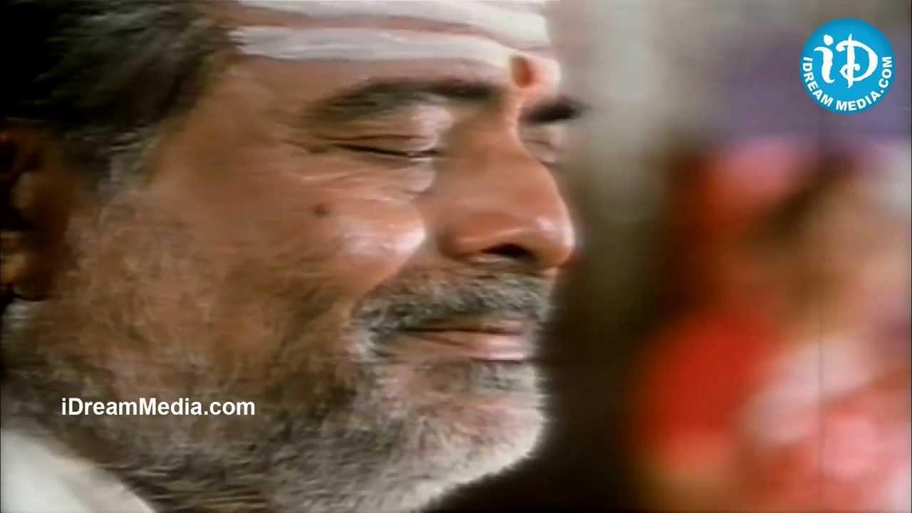 Chiranjeevi Gemini Ganesan Prasad Babu Nice Emotional: Ramesh Aravind,Gemini Ganesan Emotional Scene