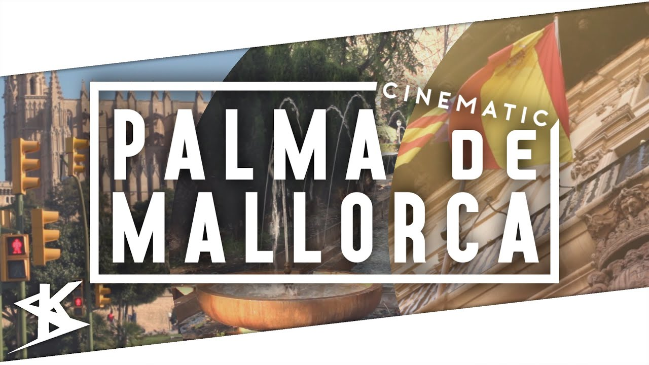Palma de Mallorca cinematic travel video