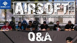 Airsoft Personalities Q&A - Airsoftcon 2017 - Airsoft Evike.com