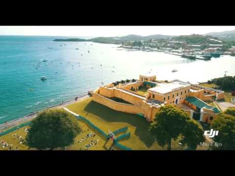 Christiansted St.Croix VI by air