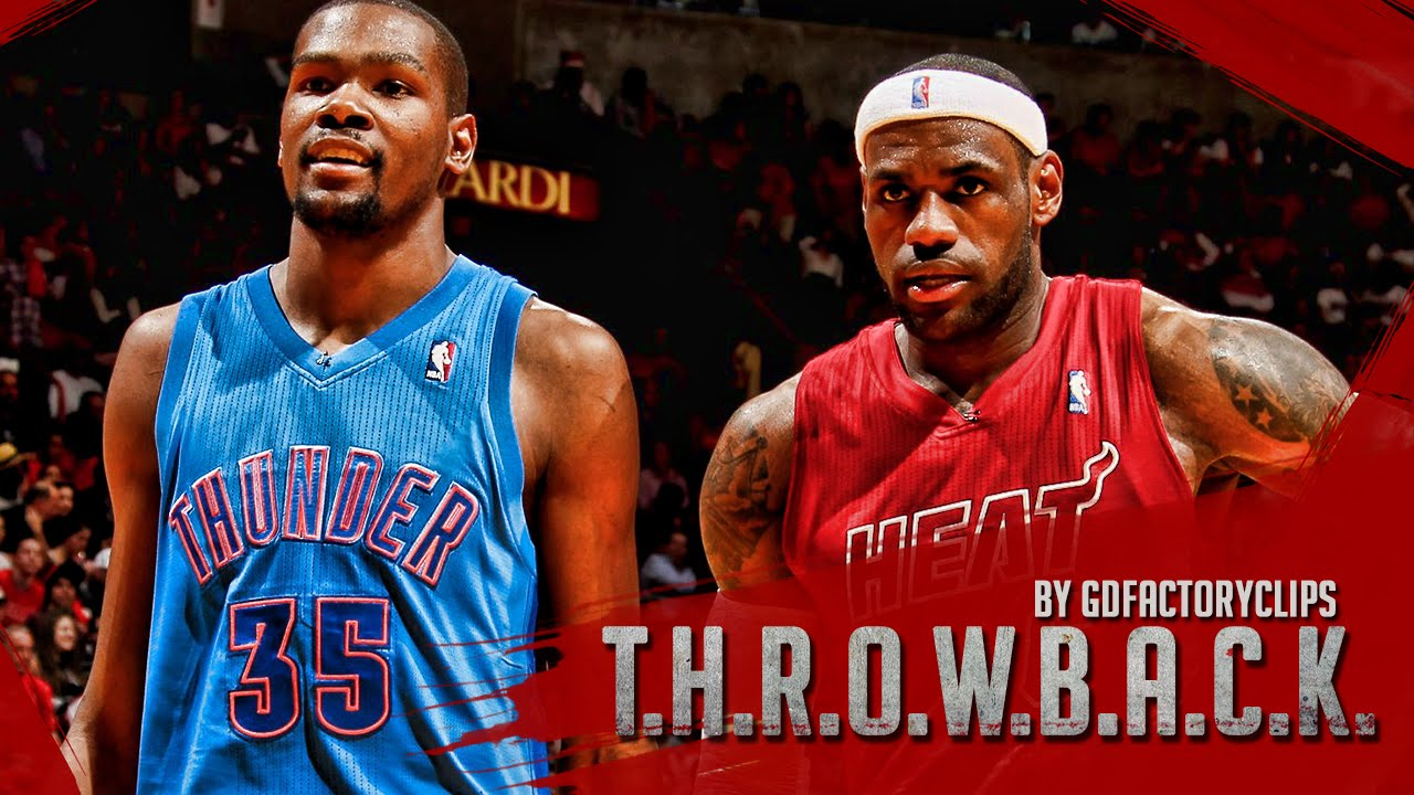 watch 8f286 4e5af Lebron James vs Kevin Durant Full Duel Highlights 2012.12.25 Heat vs  Thunder - Christmas Battle!