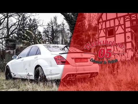 Mercedes S500 AMG Klappenauspuff S63 AMG Edelstahl FLIP EXHAUST SYSTEM