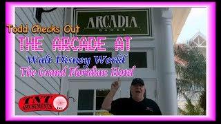 #1488b Live Video Grand Floridian Arcade At Disney World! TNT AMUSEMENTS
