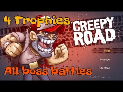 Creepy Road All Boss Battles  