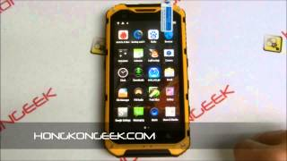 - UNBOXING AND TEST - CHINESE SMARTPHONE LAND ROVER A9+ ANDROID 4.4 IP68