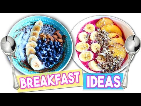 Idee per una colazione SANA e VELOCE - Cosa mangio per dimagrire What I eat for a Healthy Breakfast
