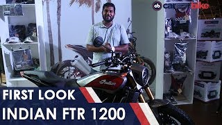 Indian FTR 1200 First Look | NDTV carandbike