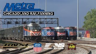 Railfanning Chicago  Feat. CN,NS,CSX,IAIS and much more!!!