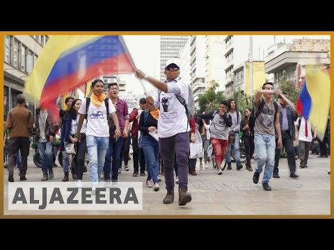 🇨🇴 Colombia protests: Anger over education funding | Al Jazeera English