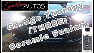 Applying Garage Therapy CS. Filthy Audi A6 gets a GT makeover. #garagetherapy #ceramic #sealant