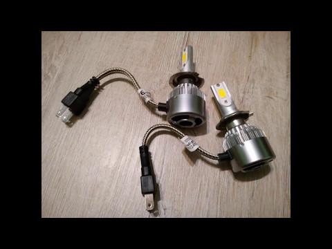 Светодиодные фары или замена света в Renault Sandero