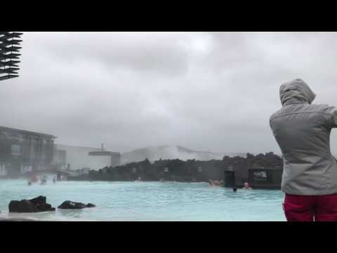 DJI OSMO MOBILE withstand strong Iceland winds