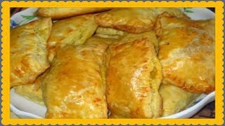 Рецепт жареных пирожков с мясом!