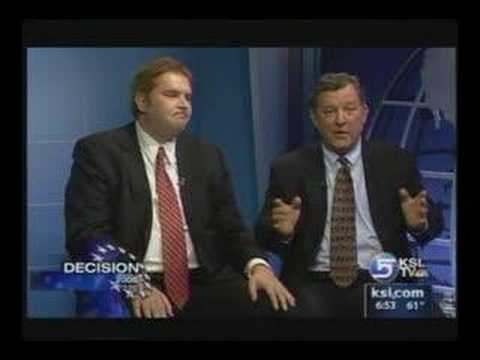 Christian Burridge Debates Chris Cannon on KSL