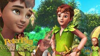 Çocuklar İçin Peter pan Sezon 2 Bölüm 10 Peter Teğmen | Çizgi film Video | Online