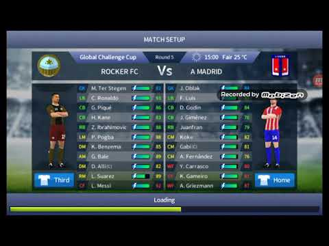 Dream League Soccer Rocker FC vs Atlético Madrid 3-0 DLS17