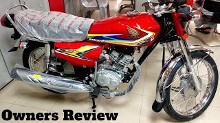 HONDA CG 125 2019 OWNERS REVIEW & TOP SPEED SOON ON PK BIKES