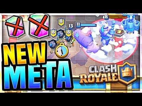 *NEW* META - NO LEGENDARY - Clash Royale INSANE New Deck