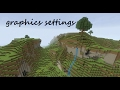 MINECRAFT PC GRAPHICS/SETTINGS HIGH VS LOW!!!!! (with optifine)