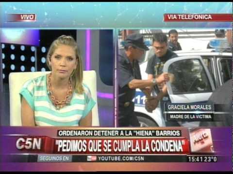 C5N - JUSTICIA: ORDENARON DETENER A LA HIENA BARRIOS