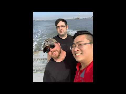 Jacksonville FL, Car Ferry, Beach And Unique Restaurant