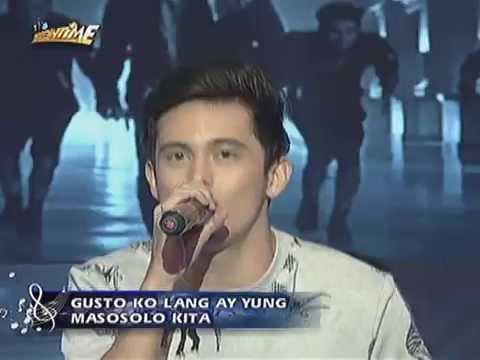 "James Reid sings ""Huwag Ka Nang Humirit"" on Showtime"