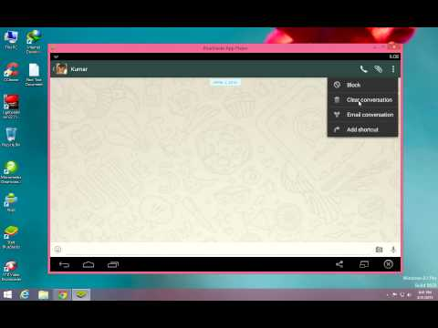 How To Enable WhatsApp Calling Feature on Windows 8.1