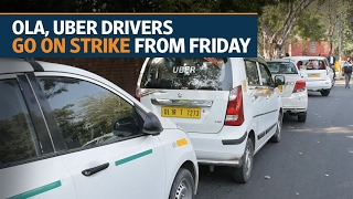 Uber, Ola Drivers in Delhi-NCR go on strike from Friday
