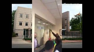 Ethiopian Protesters Inside Ethiopian Embassy: Washington DC