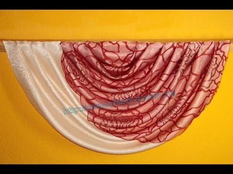 Как сшить шторы из органзы своими руками