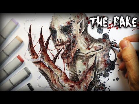 """""""The Rake"""" Horror Story - Creepypasta + Drawing"""