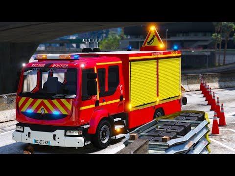 [GTA 5] Mon Premier accident de la route | Sapeurs-Pompiers #INTERVENTION31