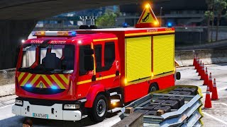[GTA 5] Mon Premier accident de la route | Sapeurs-Pompiers #INTERVENTION31